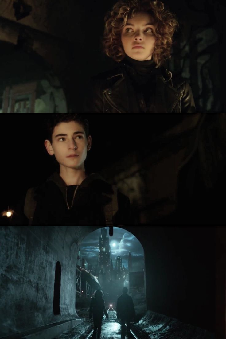 Gotham - Bruce and Selina (Camren Bicondova and David Mazouz)