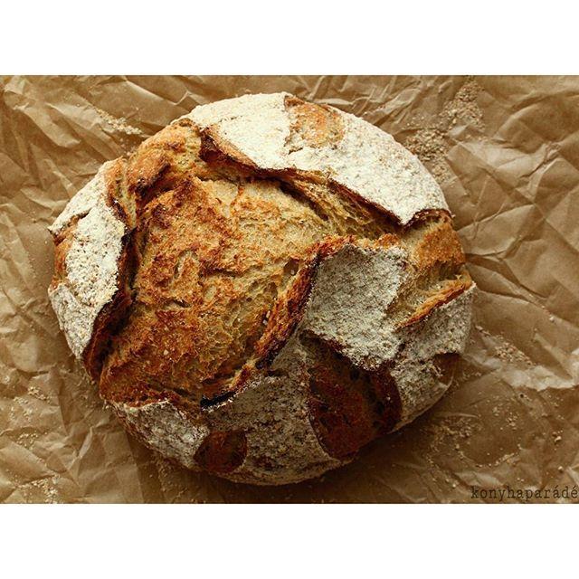 No knead oatmeal bread Dagasztás nélkülI zabkenyér  www.konyhaparade.wordpress.com