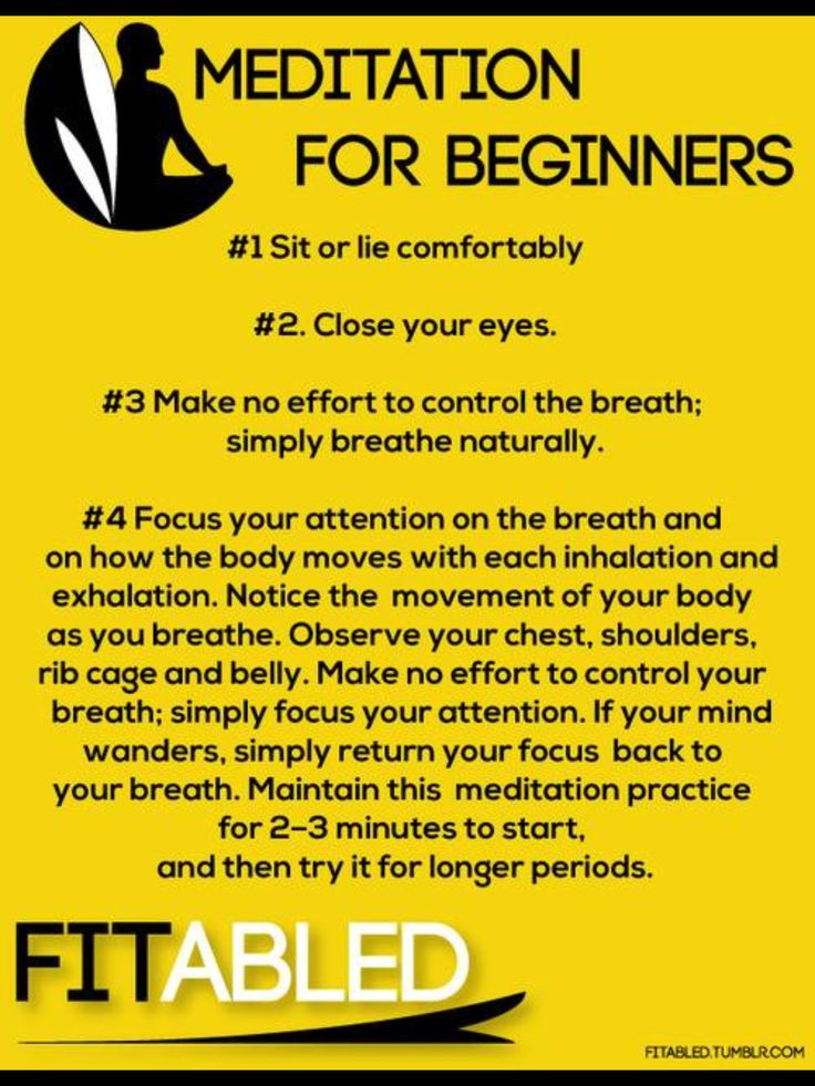 Four tips for beginners on how to #meditate. #healthynorth