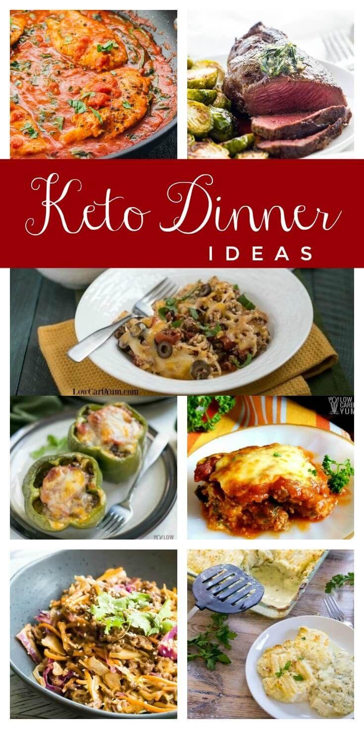 16 Keto Dinner Ideas The Whole Family Will Enjoy Keto Recipes Dinner Keto Dinner Low Carb Keto Recipes