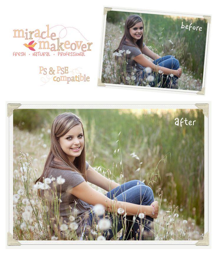 NEED for seniors  photoshop elements actions retouching
