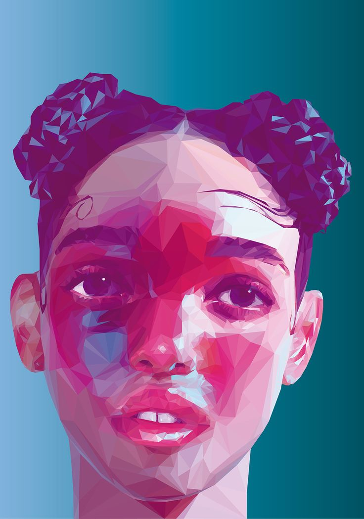 Illustration: Low Poly PortraitsArtists Software : Adobe Illustrator CS6© All rights reserved.2015
