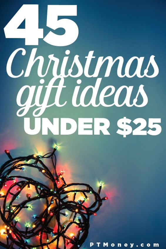 This is a fantastic list of Christmas gift ideas that are under $25 - aka presents that fit my budget! I have to be a certain amount of cheap on gifts when I have a huge list to cover every year. I definitely don't want to go into debt for Christmas. Pinning this for later!
