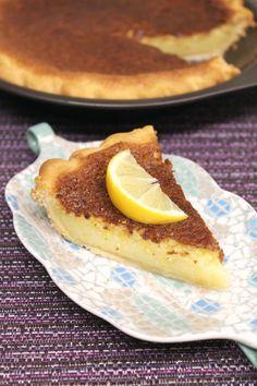 Meyer Lemon Chess Pie