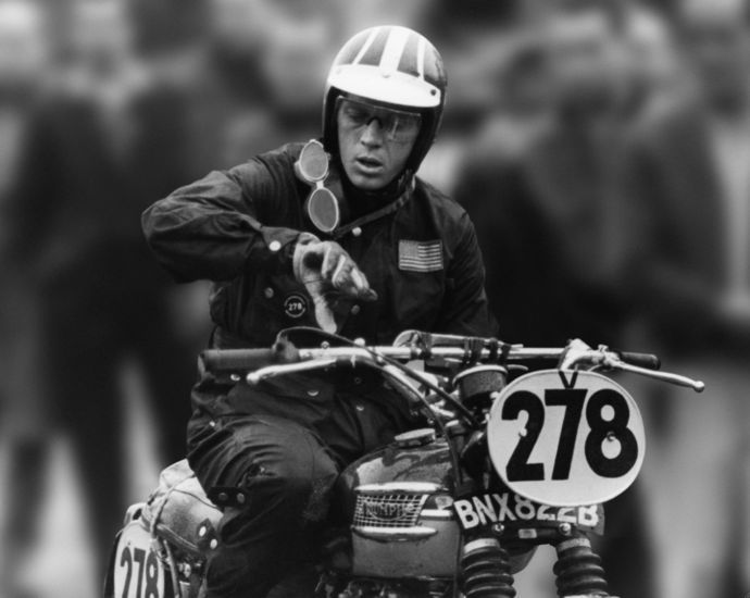Steve at International Six Days Trial  - 1964 - Erfurt - East Germany