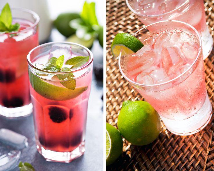 Solskin eller ej – sommer er lig med rosé. Den lyserøde vin smager skønt i sig selv, men du kan også bruge den i drinks. Her får du tre lette opskrifter.