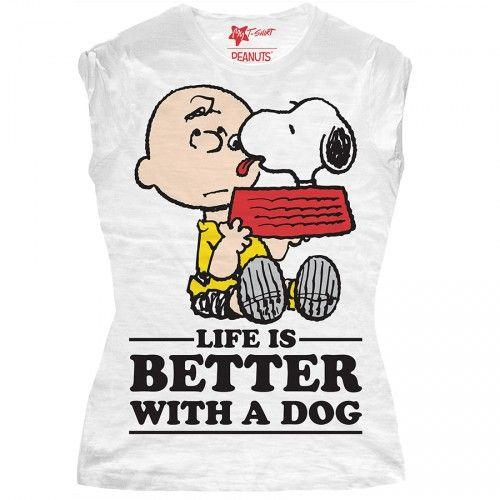 "T-SHIRT BIMBA ""LIFE IS BETTER"""