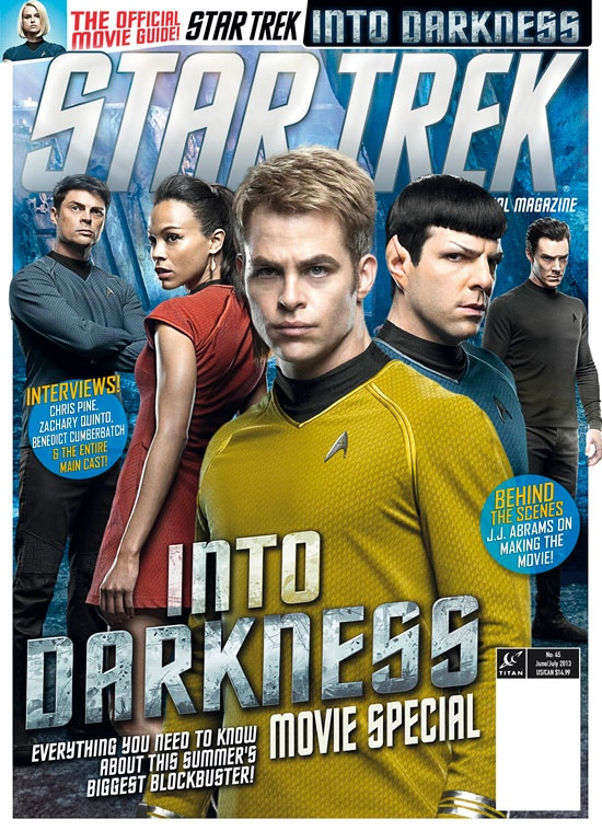 The Star Trek Magazine Movie Edition will also include all the regular features that fans know and love, including original Star Trek fiction, reviews of the latest Star Trek products, and competitions to win Gold Passes to the Official Star Trek Convention in Las Vegas this summer and Star Trek Kre-o sets.
