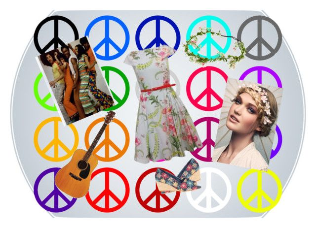 peace girl 2 by slytheriner on Polyvore featuring Ted Baker and Fitzwell
