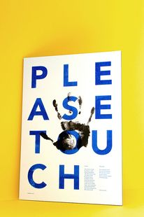 Print design(Haptic PosterbyEmil Paun, viavisualgraphc) — Designspiration