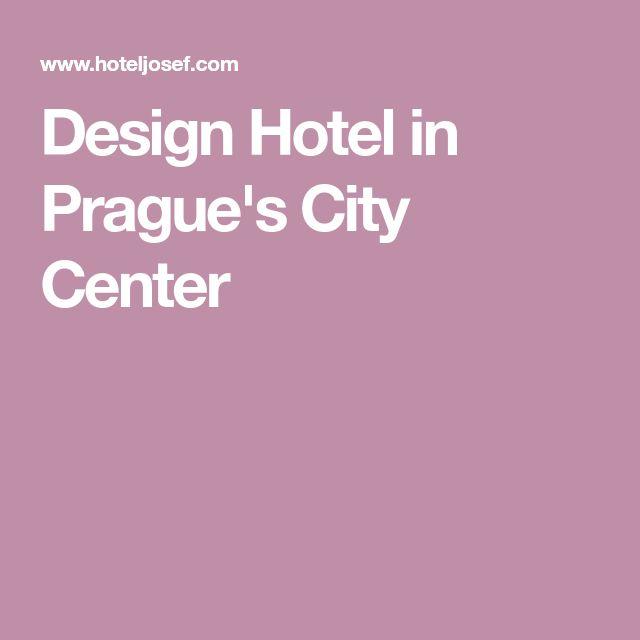 Design Hotel in Prague's City Center