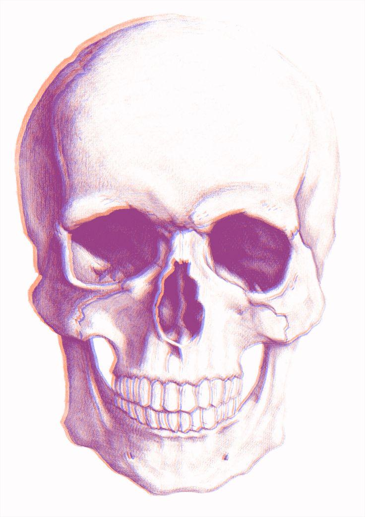 3D череп как результат перерождения после смерти (принт)