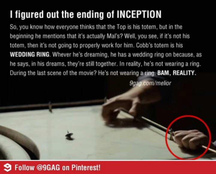 Inception | Things That Make Me Smile | Pinterest