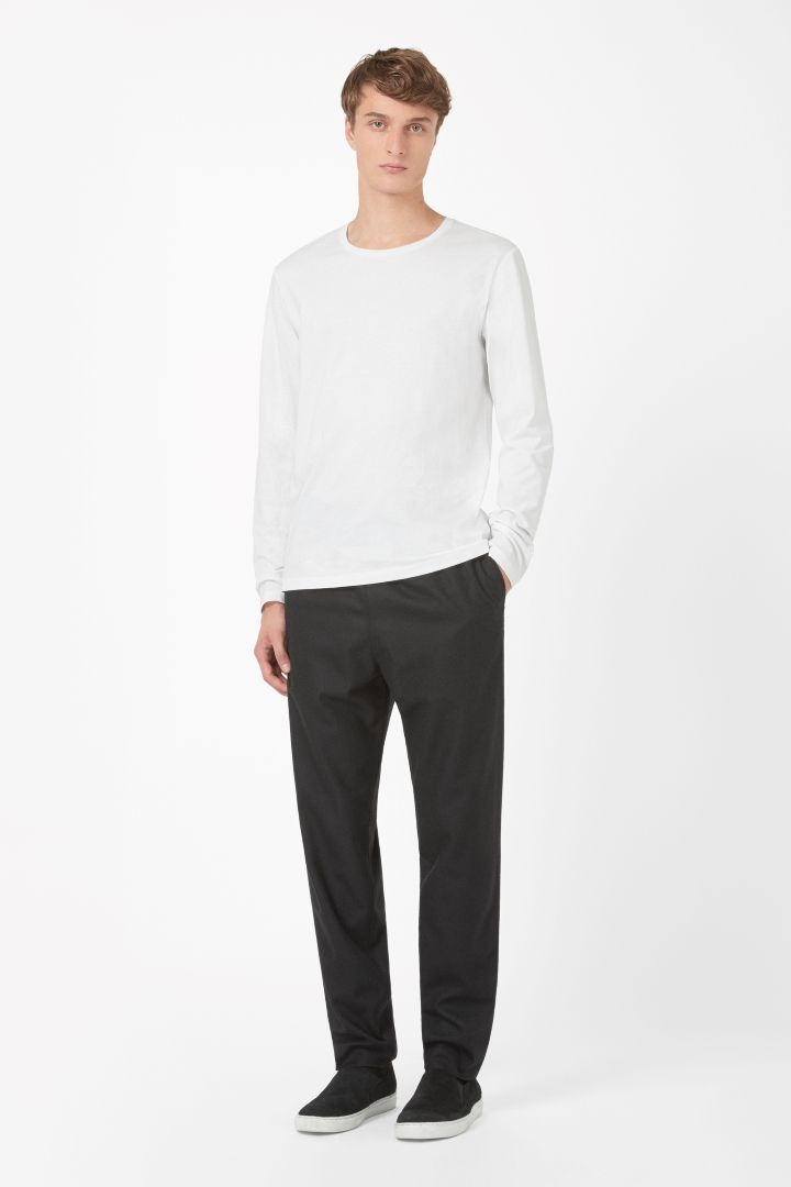 COS | Long-sleeved cotton t-shirt