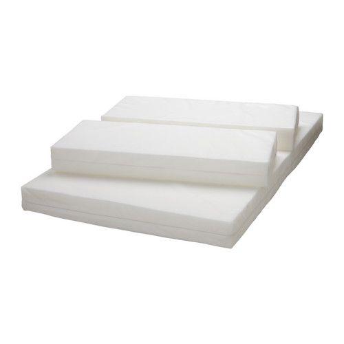 30€ Länge: 200 cm Stärke: 7 cm Breite: 80 cm VYSSA SLAPPNA Matratze für ausz. Bettgestell  - IKEA