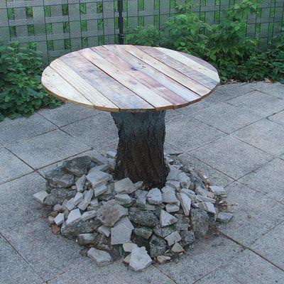 1000 id es propos de construire une table sur pinterest canap rustique - Construire table bois ...
