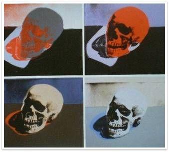 두개골, 앤디워홀, 1976