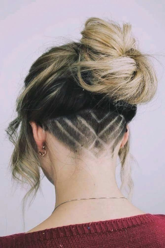 Stylish Undercut Hairstyle Medium Length Hairstyles Have A Big Number Of Perks D That In 2020 Medium Length Hair Styles Undercut Long Hair Undercut Hairstyles Women