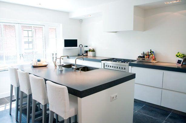 Moderne eiland #keuken