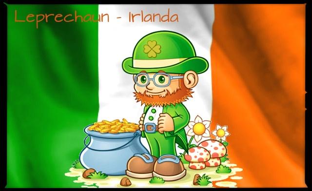 #CONCURSOBFA O folclore irlandês conta com vários personagens fantásticos como fadas, espíritos e duendes. O mascote mais famoso é o Leprechaun, um duende com vestimenta verde e uma barba laranja (cores da bandeira irlandesa). A lenda conta que se você capturar um Leprechaun, ele o levará a um pote de ouro, mas se você tirar os olhos dele por um segundo sequer, ele desaparece no ar.    http://www.intercambiobfa.com.br/blog/regulamento-concurso-intercambio-na-europa/