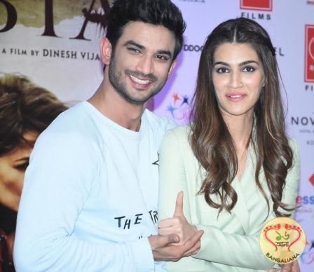 After traveling to Hyderabad, Ahmedabad and Indore, Sushant Singh Rajput and Kriti Sanon were in Kolkata for the promotion of the Bollywood film Raabta.