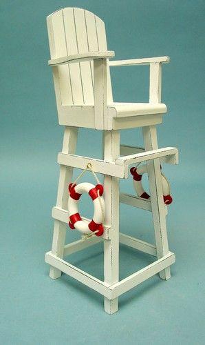 Lifeguard Chair | Lifeguard Chair Centerpiece Table Markers