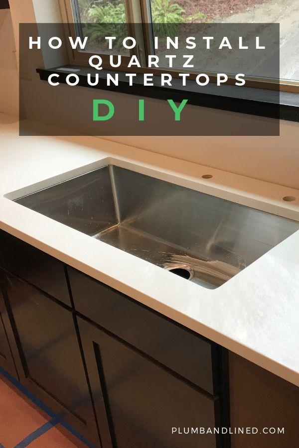 How To Install Quartz Countertops In 2020 Diy Countertops