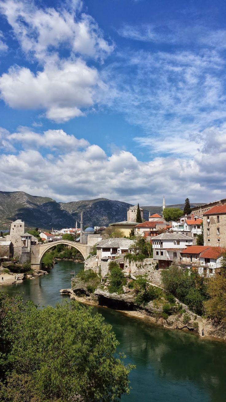 Meeting Mostar, Bosnia www.brunettsdiary.bloggersdelight.dk