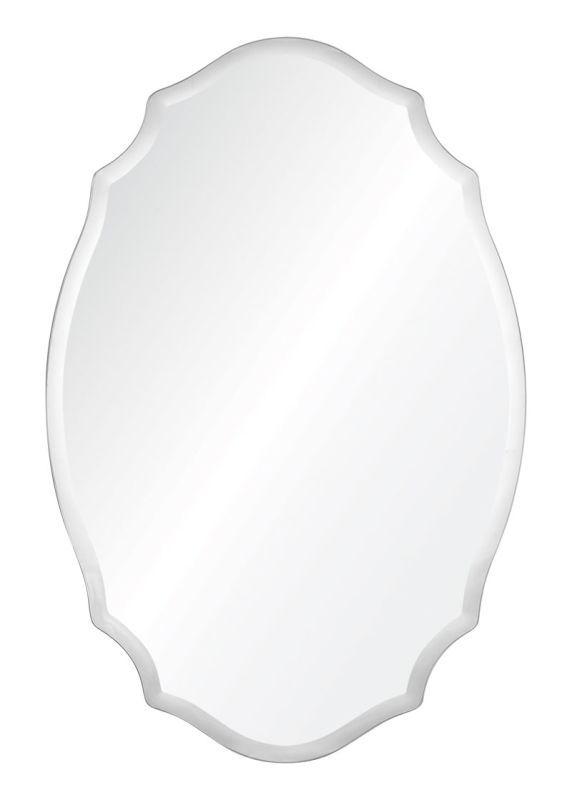 "Cooper Classics 41043 Tia 36"" X 24"" Mirror Frameless Mirror Home Decor Mirrors Lighting"