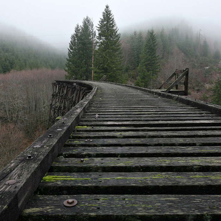 End of the line (Tophill, OR)