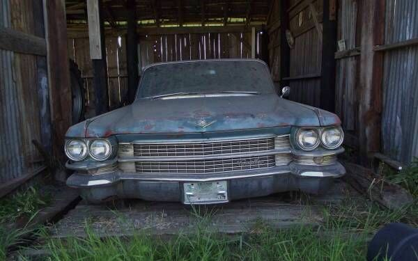 Cheap With Patina: 1963 Cadillac DeVille - http://barnfinds.com/cheap-with-patina-1963-cadillac-deville/