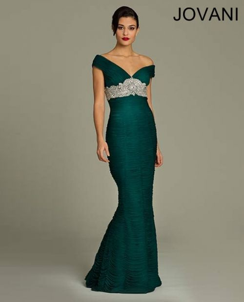 Tiered long dress style 7115