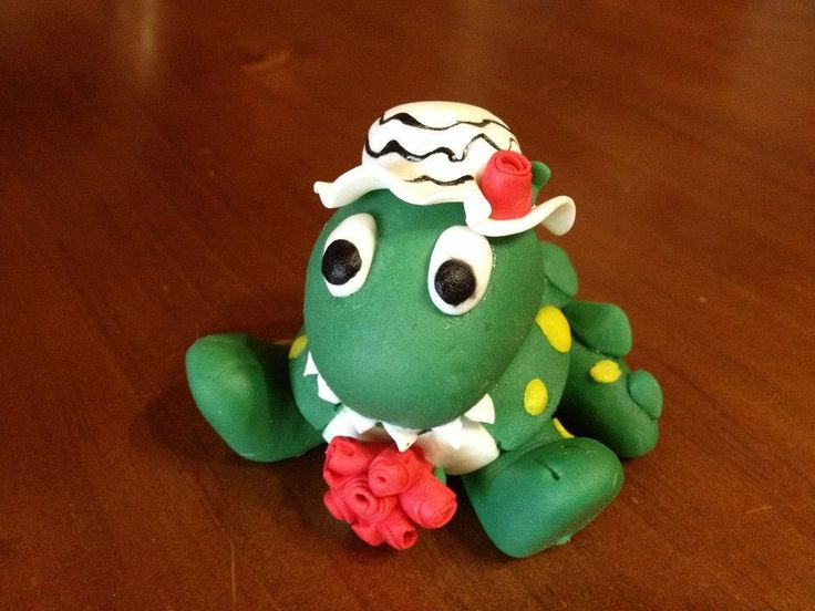 DOROTHY the DINOSAUR the Wiggles cake topper edible fondant cake decoration by DebsSweetToppers on Etsy https://www.etsy.com/listing/119555686/dorothy-the-dinosaur-the-wiggles-cake