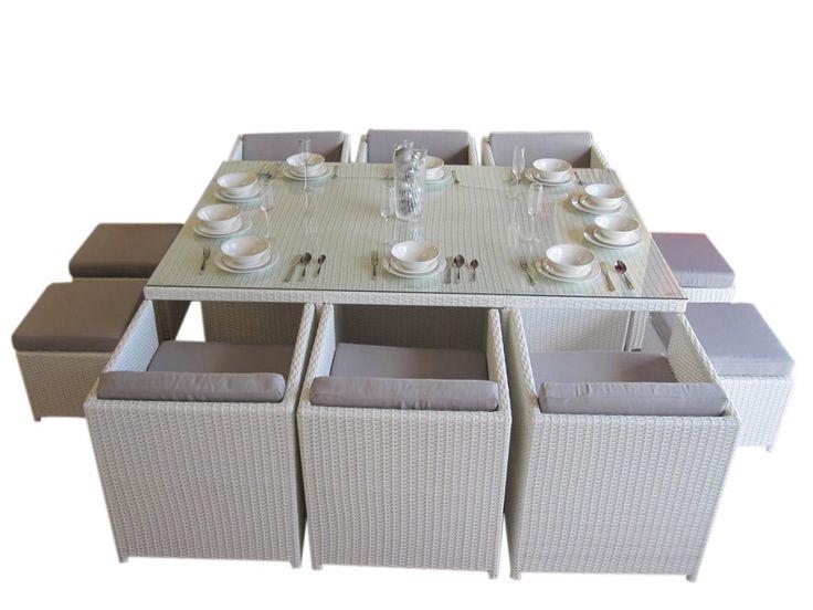 Lake Valencia 10 Seat Dining Set