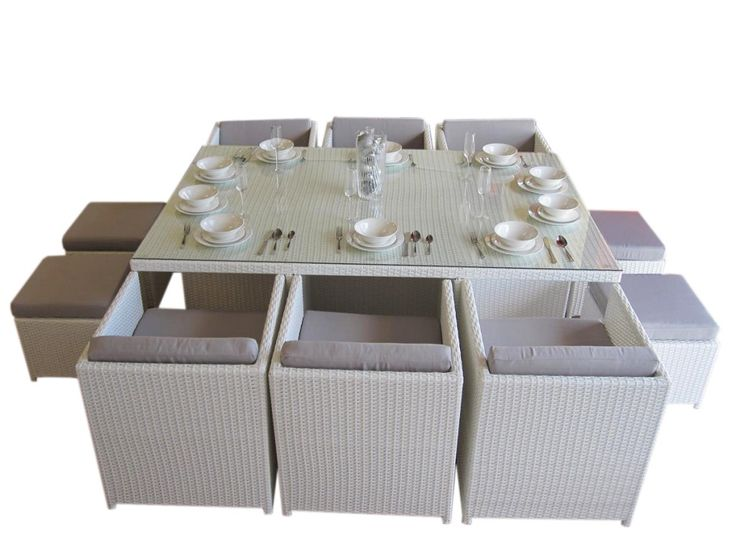 Lake Valencia 10 Seat Dining Set