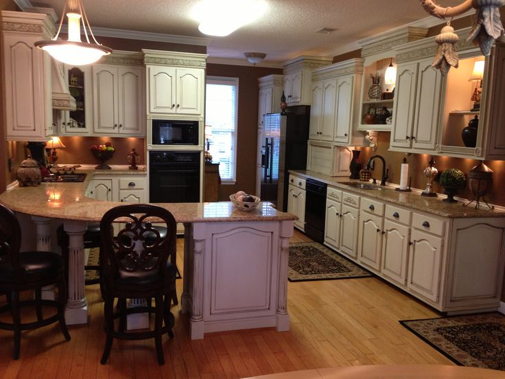 The Kitchen Remodel After Shot As A Whole