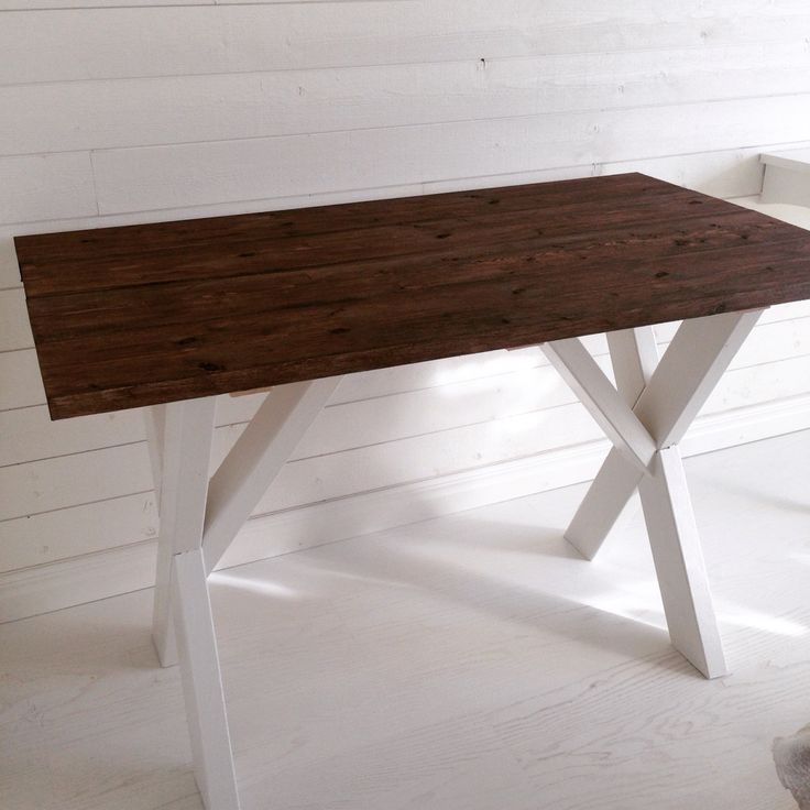 Hemmagjort köksbord  Homemade kitchen table