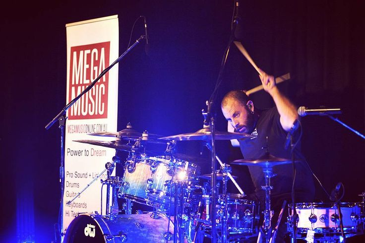 Dave Elitch Drum Clinic #daveelitch #drumclinic #drums #megamusic #megamusicmyaree