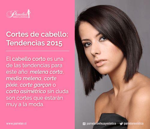 Cortes de cabello tendencias 2015 el cabello corto es - Corte de melena corta ...