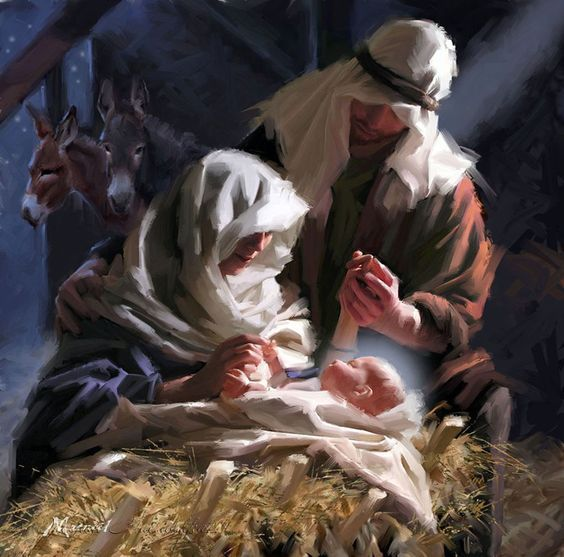 Holy Family Admires Jesus Nativity Religious Christmas: 17 Best Images About Navidad On Pinterest