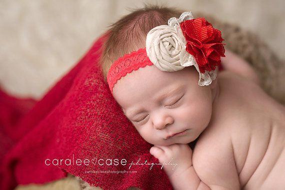 Love Letters headband #headband #newbornphotography #valentine #valentines day #sweetheart #caraleecase #red #linen