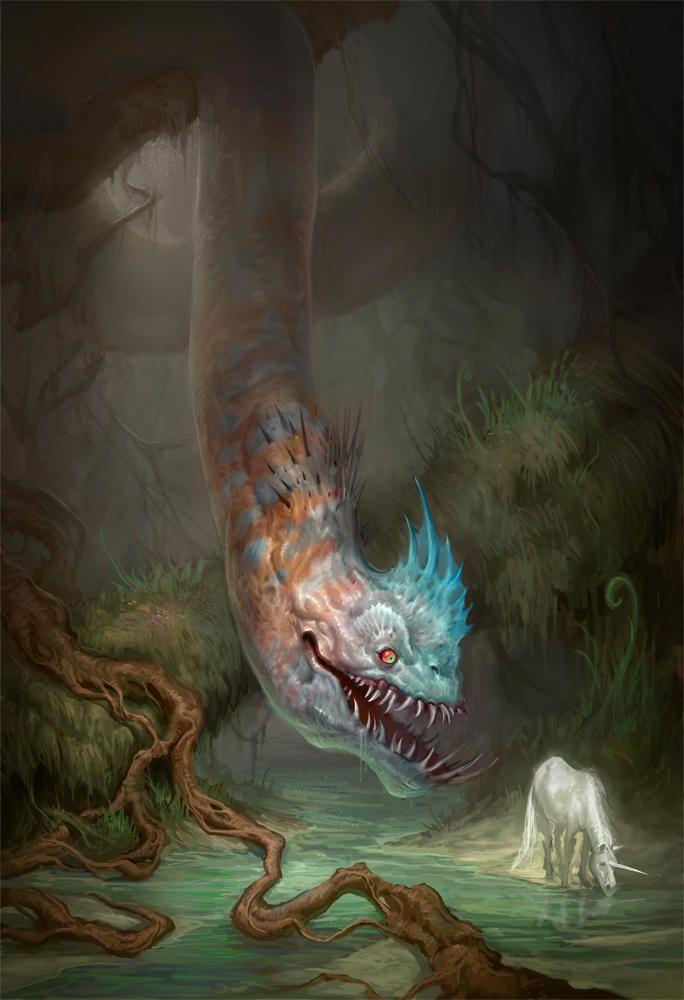 картинки существ легенды белой циклораме