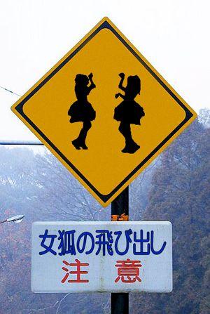 Kawaii Crossing Ahead - 今日も一日安全運転 #BABYMETAL