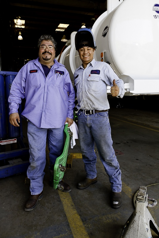 and they are our saviors for the day @Dallas Trailer Repair, Inc.