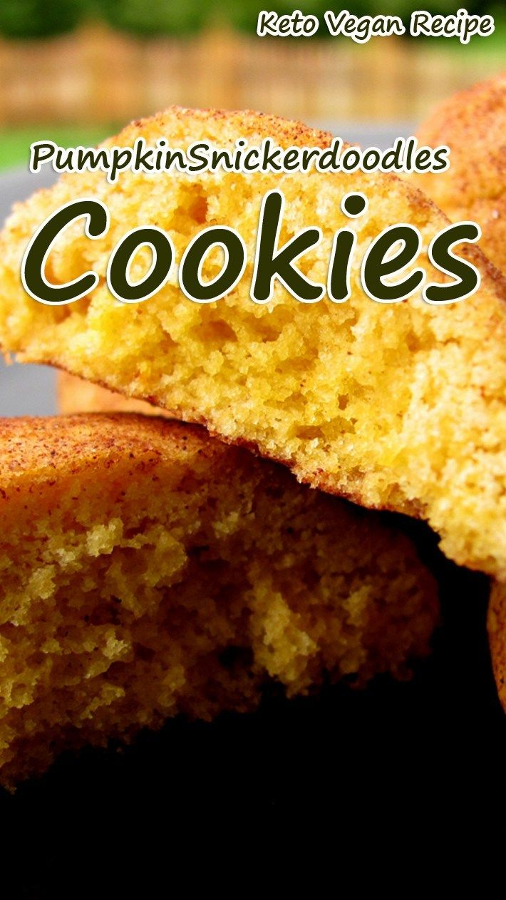 Keto Kürbis Snickerdoodle Cookies