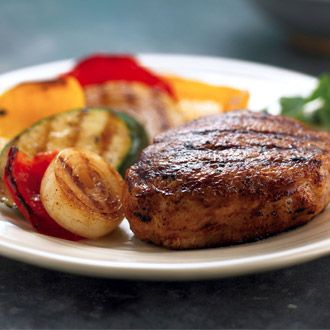 Garlic and Soy Grilled Pork Chops (South Beach)