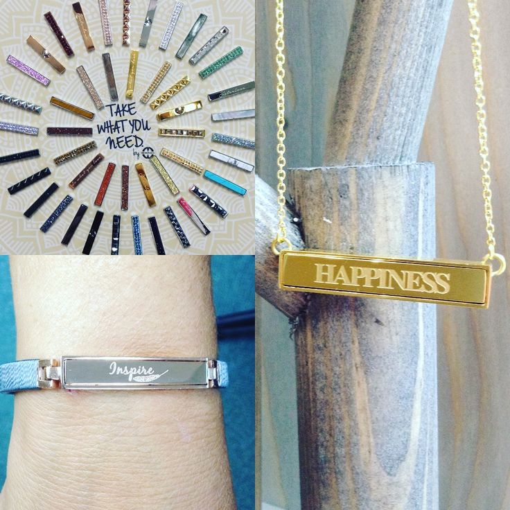 """""""Take What You Need""""- a magnetic interchangeable line of stainless steel bracelets and necklaces available in silver, yellow and Rose tones- and there's dozens of magnetic bars to choose from! Customized bars are also available!!! ASHLEY'S Distinctive Jewelry And Gifts 555 Day Hill Road860-298-9542 #TakeWhatYouNeed #TWYN #Interchangeable #Magnetic #StainlessSteel #Bracelets #Necklaces #Customizable #ASHLEYS #ASHLEYSjewelers #AshleysDistinctiveJewelryAndGifts #Jewelry #Fashion #Gifts"""