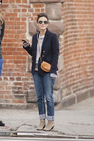 Rachel Bilson - perfect fall outfit