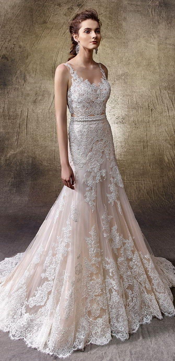 2884 best dresses images on pinterest wedding dressses brides effortless elegance in enzoani 2017 wedding dresses ombrellifo Image collections