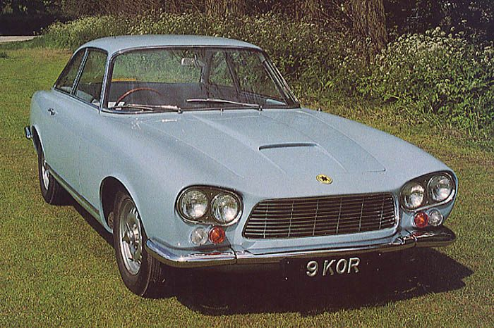 Gordon-Keeble GK1 (Bertone), 1964-66 - The first production car - chassis No. 001